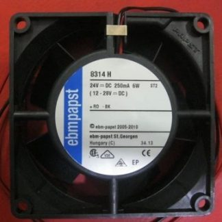 Ebmpapst MULTIFAN 8314H 8032 DC24V 6.0W inverter double ball bearing fan 80*80*32mm