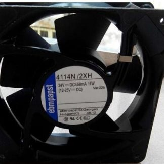 Original ebmpapst 4114N/2XH 24V 11W 120*38MM high-temperature inverter fan