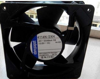 Original ebmpapst 4114N/2XH 24V 11W 120*38MM high-temperature inverter fan