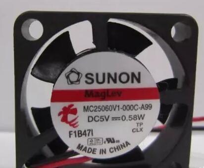 Original Sanyo MC25060V1-000C-A99 DC5v 0.58W cooling fans