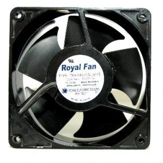 Original ROYAL FAN TMHS457CG 12CM 12038 230v Full Metal cooling fan