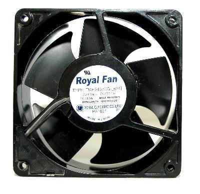 Original ROYAL FAN TMHS457CG 12CM 12038 230v Full Metal cooling fan