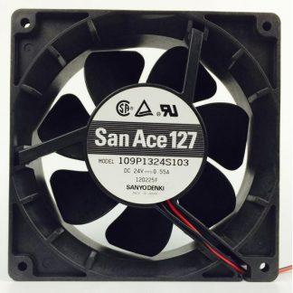 Original Sanyo 109P1324S103 24V 0.55A 12.7CM cooling fans
