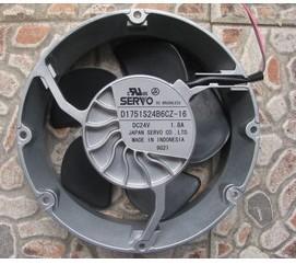 Original SERVO D1751S24B6CZ-16 1751DC24VABB Fan