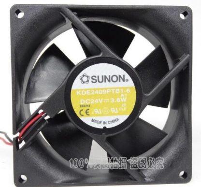 Original SUNON KDE2409PTB1-6 DC 24V 3.6W cooling fan