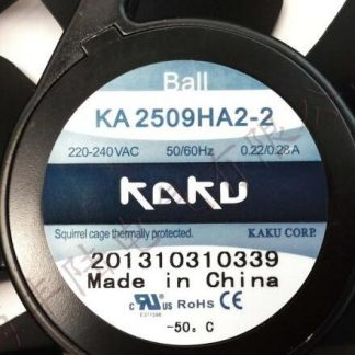 Original    KAKU  CORP  KA2509HA2  220V 240V 0.31A/0.29A  fan