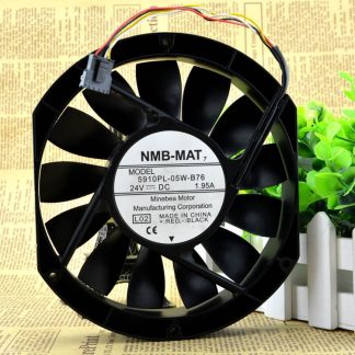Original   NMB 5910PL-05W-B76 24V 1.95A 17025  server fan