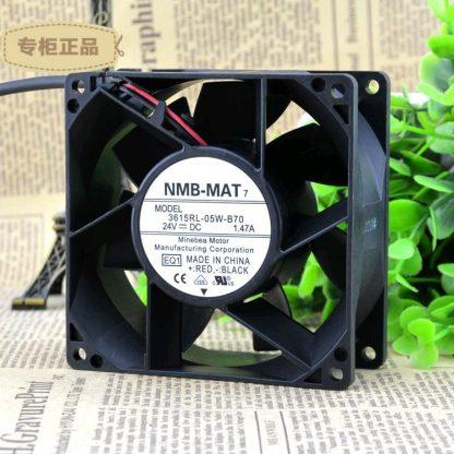 NMB 615RL-05W-B70-E00   24VDC 92X38.4MM 7200RPM   cooling   fan