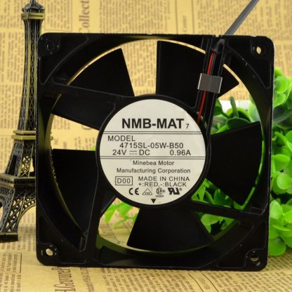 NMB  4715SL-05W-B50 24V 0.96A 12CM  cooling fan