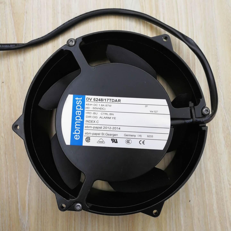Original ebmpapst DV6248/17TDAR 48V 1.8A 87W 172*51MM fan