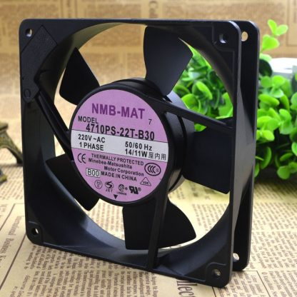 Original  NMB-MAT  4710PS-22T-B30   AC220V  14/11W    fan