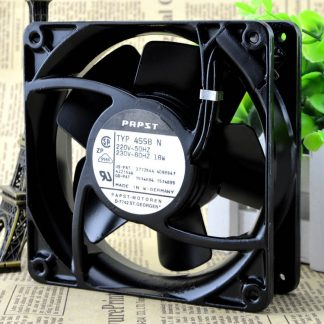 PAPST  TYP 4558N 220V 18W 120*120*38MM 12038 12CM full metal fan