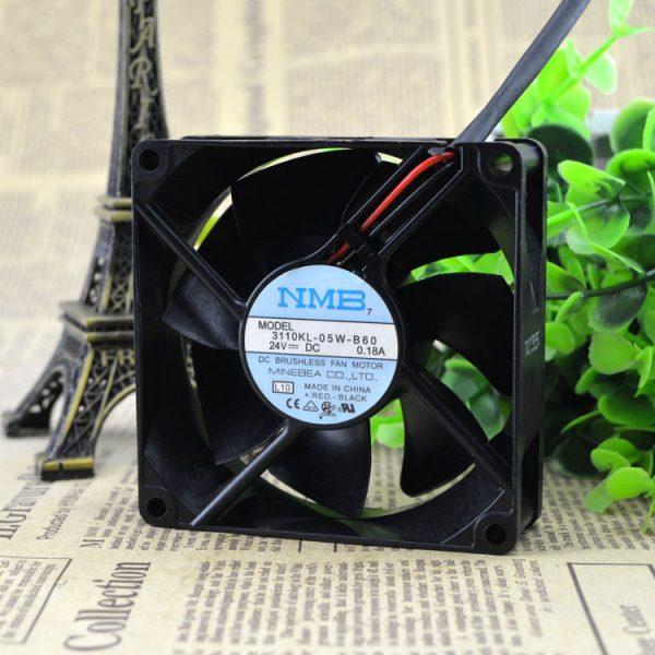 Free Delivery. 3110 kl - 05 w - 8025 8 cm B60 24 v 0.18 A super durable inverter fan