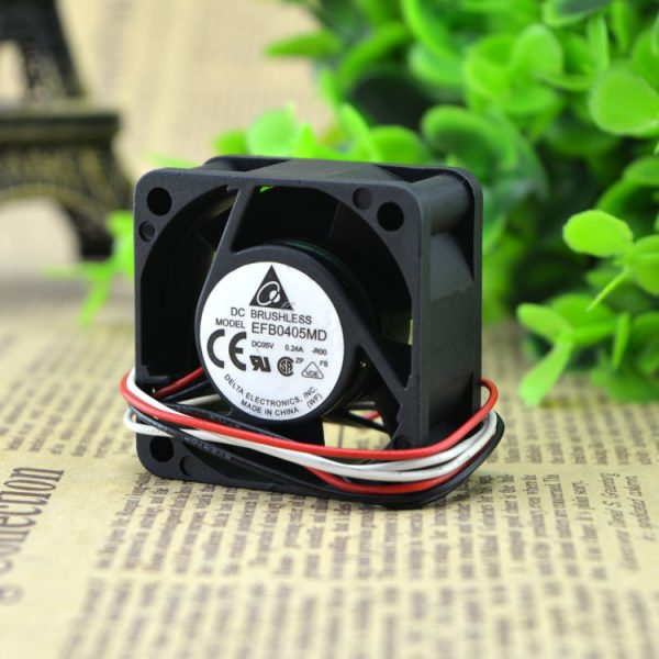 Delta EFB0405MD -R00 4020 4cm 40x40x20mm DC 5V 0.24A 3-wire 4-pin Server Inverter Speed Computer Cpu Blower Axial Cooling Fan