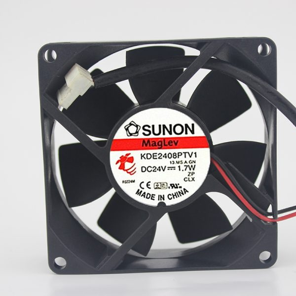 Original / KDE2408PTV1 / 2/3 24V 1.7W 8025 8CM inverter fan