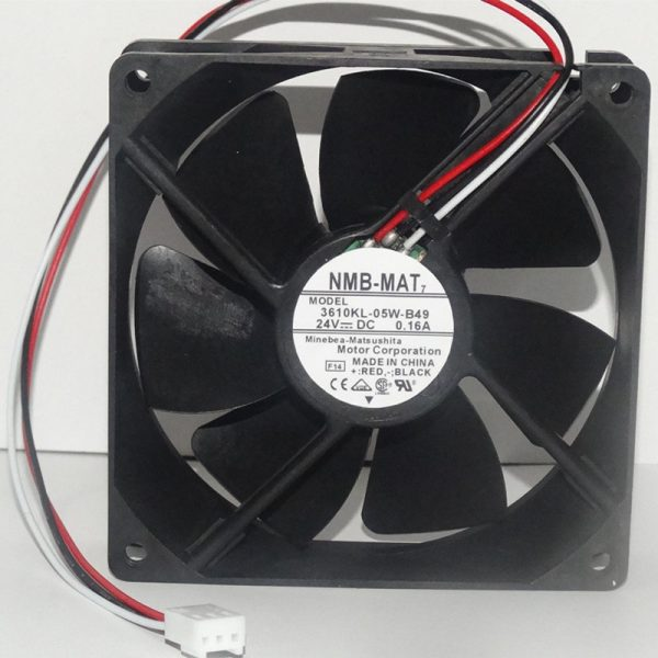 Free Delivery.3610KL-05W-B49 original 0.16A92*92*25 24V three wire inverter fan