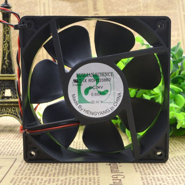 Free Delivery.RDH1238B2 24 v 0.60 A 12 cm 12038 inverter fan