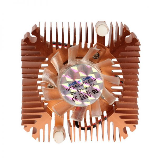 Professional 55mm CPU Cooler Cooling Fan for CPU VGA Video Card Bronze MiniP4PM High Quality