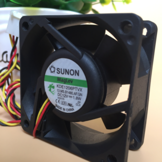 Original SUNON KDE1206PTVX 6025 DC 12V1.8W 60 * 60 * 25mm three-wire cooling fan