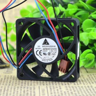Original DELTA AFB0612VHC 6015 0.36A 6CM DC 12V 60*60*15MM 3-wire Speed Cooling Fan