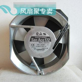 Original SANYO 109S303 17cm 17251 230V drive aluminum frame cooling fan