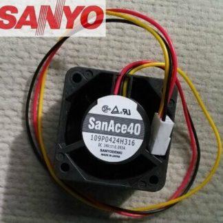Original Sanyo 4CM4028 24V 0.095A 109P0424H316 quality assurance inverter cooling fan