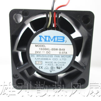 Free Delivery. New 1606KL-05W-B49 24V 0.07A 4CM 4015 3-Wire Inverter Fan