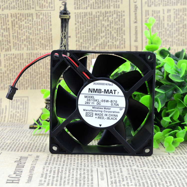 NMB 3615kl-05w-B70 24V 0.7A cmabb inverter fan