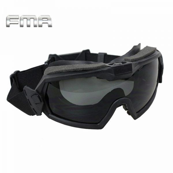 Tactical Fan Version Cooler Airsoft Glass Regulator Goggles Ski Snowboard Bike Sports