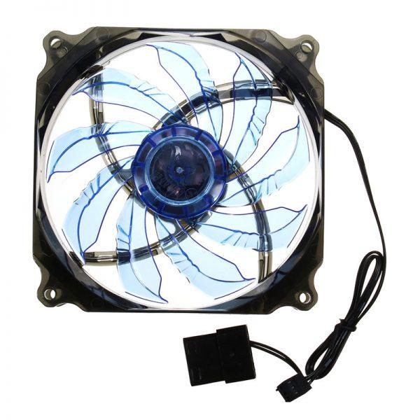 120mm PWM 3Pin/4pin CPU Cooler Fan Radiator 12V LED Light Heatsink Computer Case Fan Air Cooling For Hyper Z600/212/V10/V8