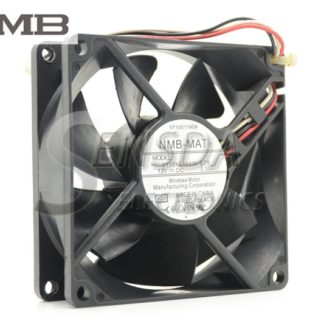 Original NMB 3110KL-04W-B79 8025 80mm 8cm DC 12V 0.38A For 2851 2821 switch CPU Cooler Cooling Fan