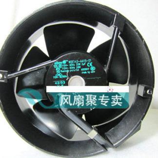 Original German EBMPapst W2E143-AA15-01 17cm 172*51MM 115V Full Metal cooling fan