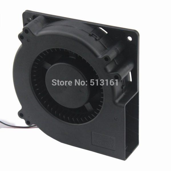 2Pcs Gdstime 120mm x 32mm 48V Ball Bearing 12032 Radial Cooling Brushless DC Centrifugal Fan Blower