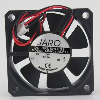 Genuine fan AD0624UB-D71 6015 24V 0.11A power supply cooling fan