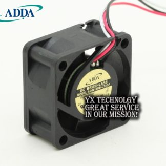 ADDA Original new AD0412UB-C73GP 12V 0.2A 4020 4cm three wire speed fan for 40*40*20mm