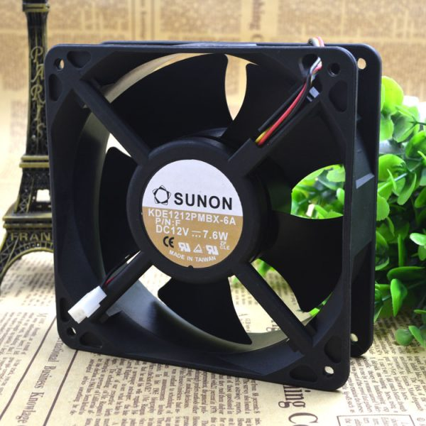 Free Delivery.KDE1212PMBX 12038-6 a 12 v 7.6 W axial chassis cooling fans