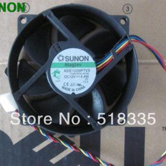 SUNON 9CM 8CM 8025 9225 90/80mm x 25mm KDE1209PTVX Maglev Cooler Cooling Fan 12V 4.4W