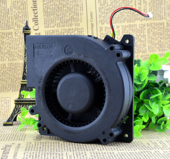 The original Delta BFB1224M 24V 0.45A 12CM 12032 120*120*32MM two line turbo blower fan