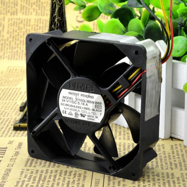 Free Delivery. 8 cm inverter fan 8025 24 v 0.18 A 3110 gl - B5W - B69 double ball