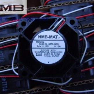 Original NMB 1608KL-05W-B69 4020 4cm 40*40*20MM 24V 0.13A cooling server axial fan