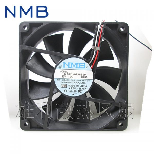 NMB New 4710KL-07W-B29 fan 48V 0.09A 120*120*25MM for nmb