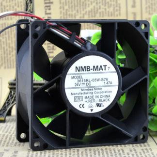 Wholesale: NMB 3615RL-05W-B76 90*90*38 24V 1.47A 9CM converter fan
