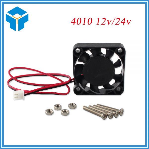 DC 12V Computer CPU Cooler Mini Cooling Fan 40MM 40x40x10mm Small Exhaust Fan for 3D Printer 4010 2 pin 40x40x10