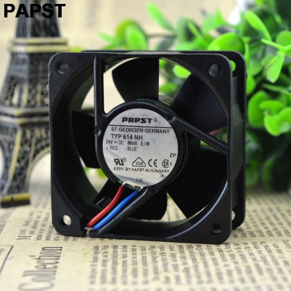 Papst 614 NH 6025 6 inverter fan 24v 2.1w high quality industrial fan