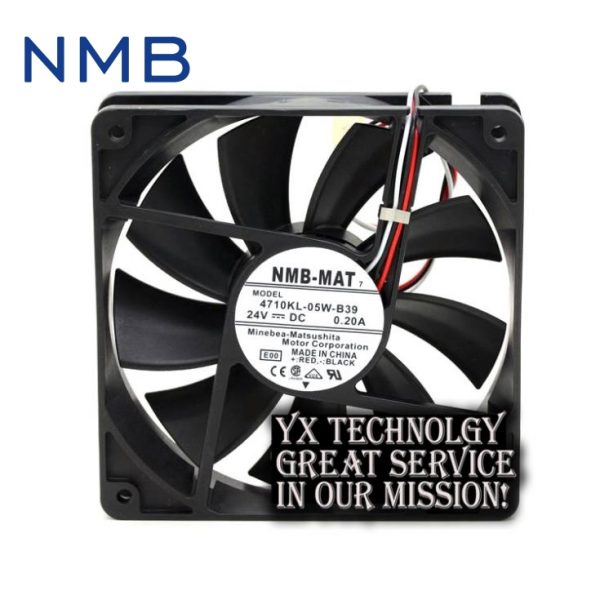 New 4710KL-05W-B39 24V 0.2A 12CM 12025 alarm inverter fan for nmb