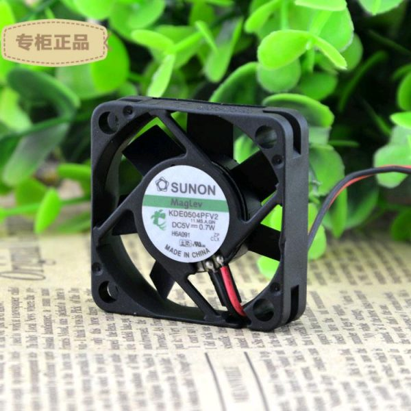 sunon KDE0504PFV2 DC5V 0.7W cooling fan