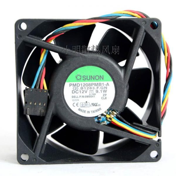 Free Delivery. 8 cm 8038 12 v 9.1 W inverter dc fan PMD1208PMB1 - A