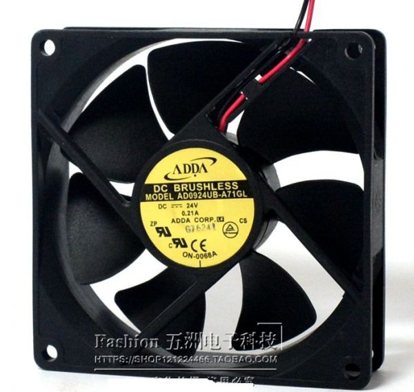 SSEA New cooling fan for ADDA AD0924UB-A71GL 24V 0.21A 9CM 9025 92*92*25mm Double ball bearing inverter FAN