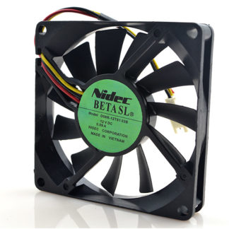 New original D08R-12TS103B 8015 12V 0.09A 8CM 3-wire ultra-quiet cooling fan
