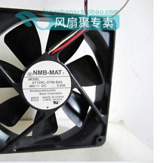 The original NMB 4710NL-07W-B69 12CM 12025 48V 0.2A120 x 120 x 25mm inverter Case Fan